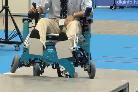 Chiba Tech Robotic Wheelchair
