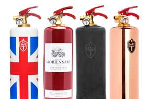The SAFE-T Designer Fire Extinguishers are Cool and Stylish