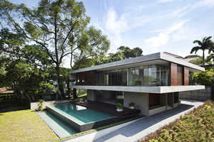 The Ong & Ong JKC1 House is a Modern Singapore Abode