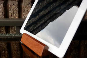 These Wooden iPad Stands are Multi Functional
