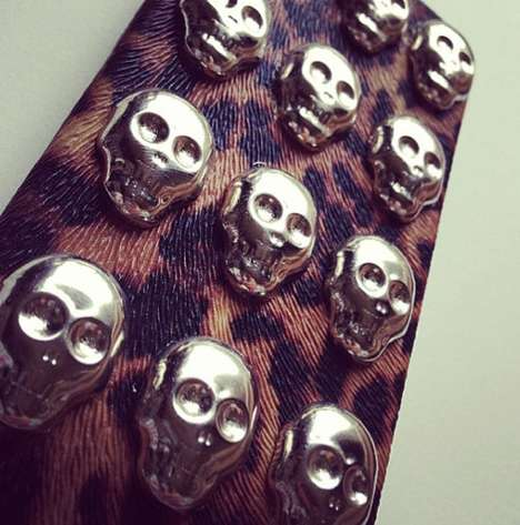 Skull Studded Hard Case