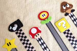 The Super Mario Bros Pacifier Clip is Cute and Geeky