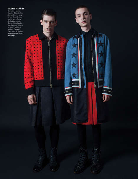 Preppy Punk Personages - The Fashionisto Fall 2012 Cover Story Showcases Autumnal Menswear