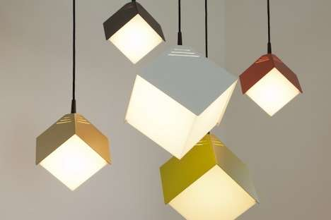 The Julian Appelius Dado Lamp Brightens Your Home with Geometry