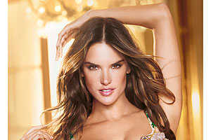 Victoria's Secret 2012 Million Dollar Bra Worn by Alessandra Ambrosio