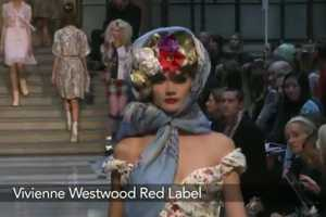 Vivienne Westwood's Spring Summer 2013 Line Features Headgear