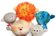 Celestial Stuffed Creatures - Teach Your Child About the Solar System With These Plush Planets