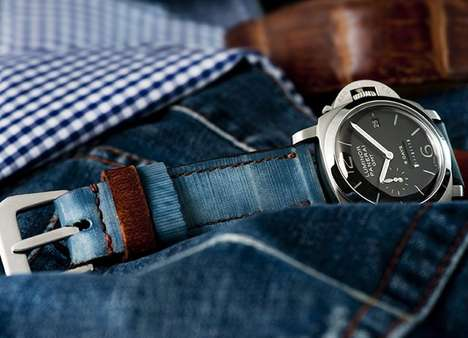Blue Jeans Watch Strap