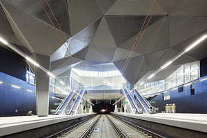 The Train Station Design by Abalos Sentkiewicz Arquitectos is Avant-Garde