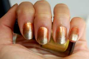 This Autumn Ombre Nail Art is Simple and Posh for the Holidays