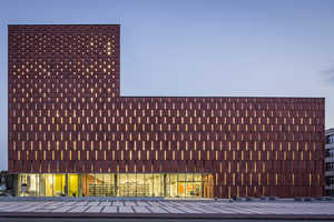 The Katowice Library by HS99 Towers With Academic Grandiosity