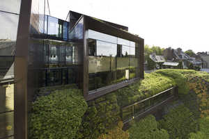 The Regional Chamber Building by Chartier-Corbasson Architectes is Lush