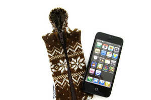 The iPhone 5 Hoodie Cases Keeps Your Phone Fashionably Toasty