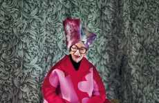Iconic Elderly Style Covers - The Iris Apfel Dazed & Confused November 2012 Feature is Eccentric