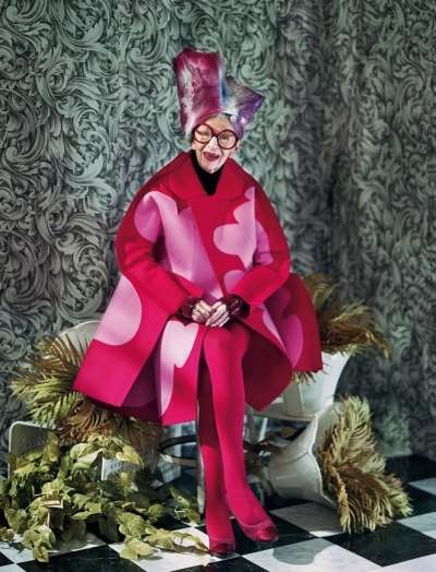 Iris Apfel Dazed & Confused November 2012