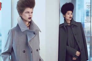 The Andrew Yee for Vogue China Editorial Boasts Double Bold Hair
