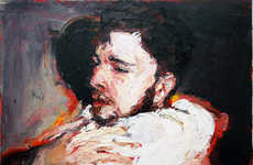 Intimate Masculine Artwork - Adam Brooks Oil Paintings Capture Sentimental Male Moments
