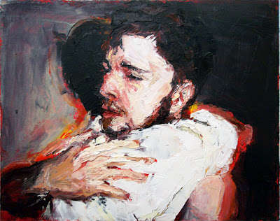 Intimate Masculine Artwork - Adam Brooks Oil Paintings Capture Sentimental Male Moments