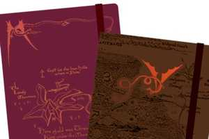 Moleskine Hobbit Notebooks Celebrate the Upcoming Trilogy