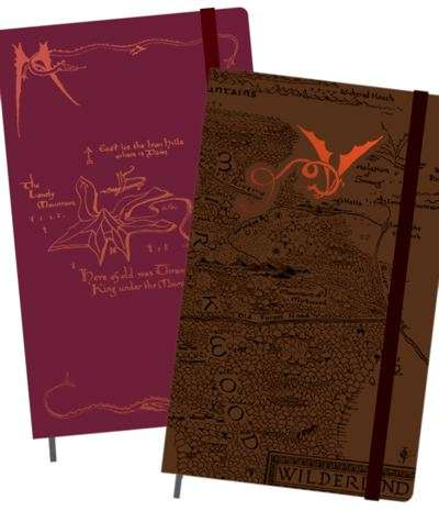 moleskine hobbit notebooks