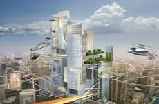 Futuristic City Makeovers - The Future of Architecture Project Explores Holistic Urban Concepts