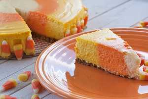 Give Your Cake a New Spin With the Candy Corn Cheesecake Recipe