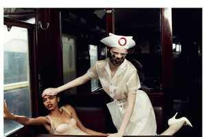 The Harper's Bazaar Russia November 2012 Feature Boasts Striking Motifs