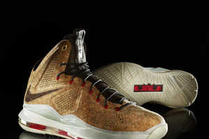 You Won't Want to Tack Pictures on These Nike LeBron X NSW Cork Shoes