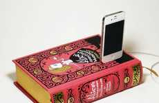 Literary Smartphone Chargers - True Vintage Classics lets You Dock Your Phone on Your Favorite Novel