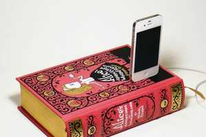 True Vintage Classics lets You Dock Your Phone on Your Favorite Novel
