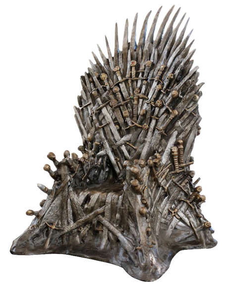 Game of Thrones Lifesized Throne