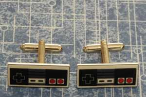 The Video Game Controller Cufflinks Make Dressing Up Fun