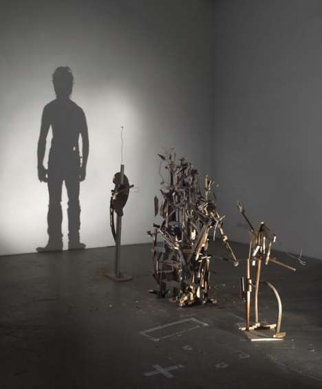 Nihilistic Optimisn Shadow Art