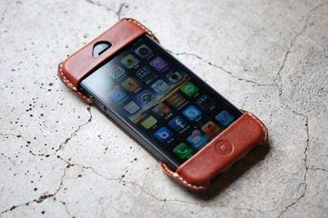 Roberu Leather iPhone Case