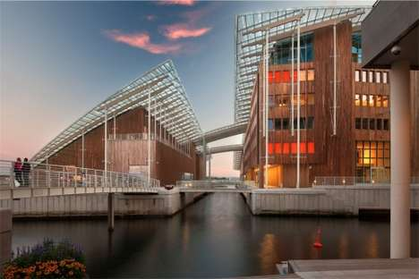 Floating Waterfront Museums - The Astrup Fearnley Museet is Set in Oslo