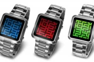 Enjoy Games and Tell Time With the Tokyoflash Kisai Maze LCD Watch