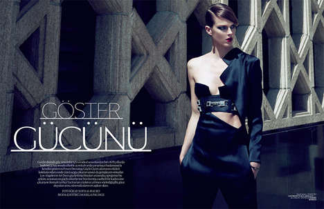 Strong Structured Fashion - The Vogue Turkey
