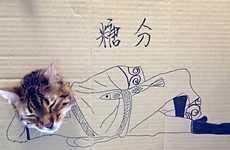 Cut-Out Kitty Ensembles