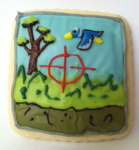 game-inspired cookies