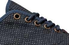Slim Waffle Sneakers