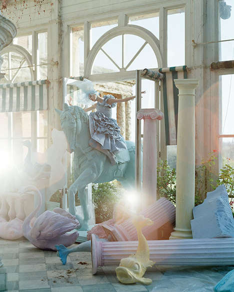 Surreal Scenario Photography - Tim Walker Story Teller Showcases Imaginative Settings