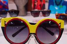Beetle-Shaped Sunglasses - Coco and Breezy's Spring/Summer Eyewear is Rounded
