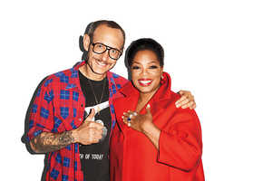 Terry Richardson and Oprah Team Up for Harper's Bazaar Magazine