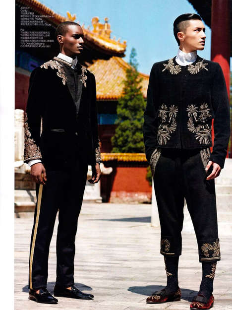GQ China The Fall Editorial