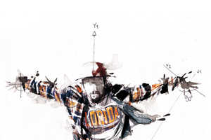 Artist Florian Nicolle Illustrates Dance with Math Equations