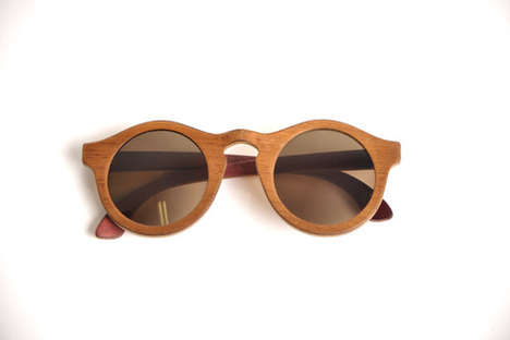 Stylish Recycled Sunglasses - The Oculos Zerezes Line is Made of Reused Materials