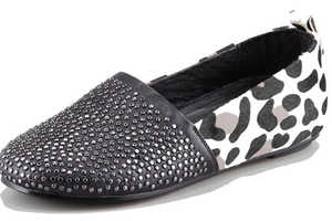 These House of Harlow 1960 Flats Contain Both Leather and Prints