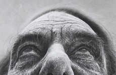 Hyper-Realistic Charcoal Portraits