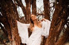 Boho Tree-Hugger Fashion Ads