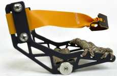 Durable Handheld Catapults - The GloveShot Slingshot Can Handle Heavy Materials